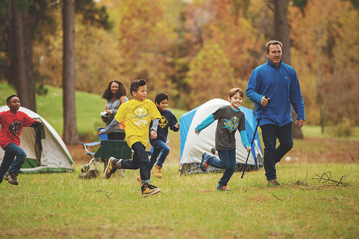 Cub Scouts Camping