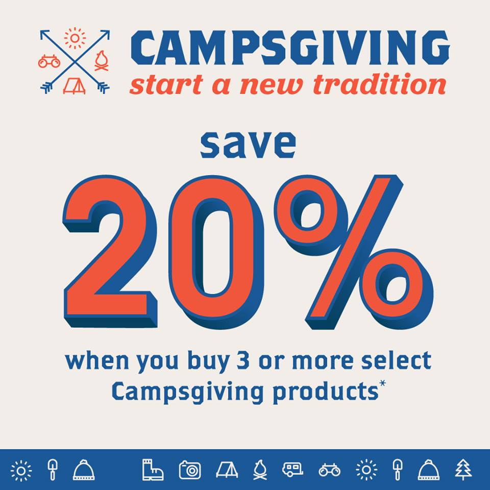 Scout Shop Campsgiving
